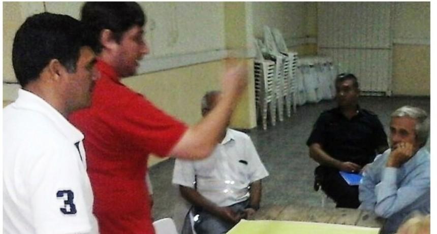 Reunión participativa en Barrios Sarmiento y Este de Reconquista
