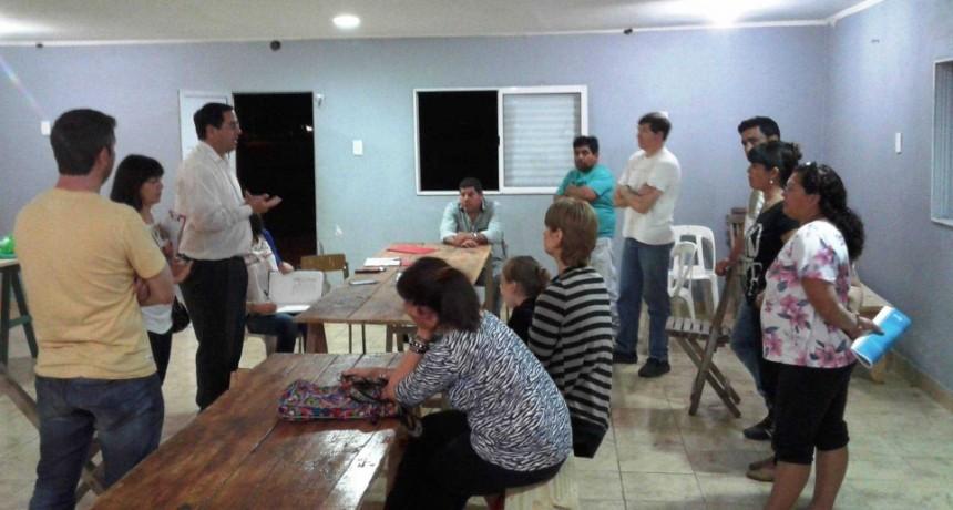 Planificación Participativa para vecinos de Barrios La Loma y Asunción