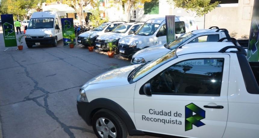 Nuevos vehículos para la municipalidad de Reconquista