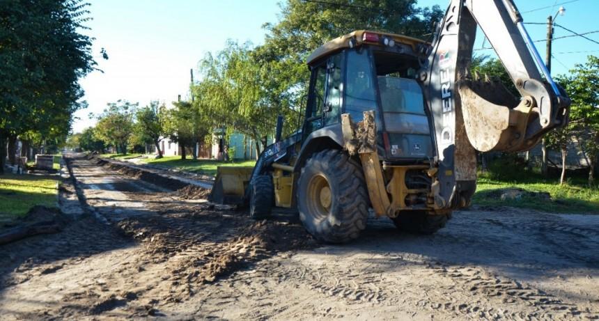 Plan de pavimentación para Barrio Norte