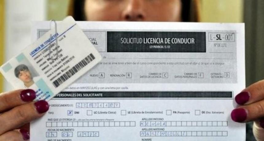 Turnos para licencias de conducir