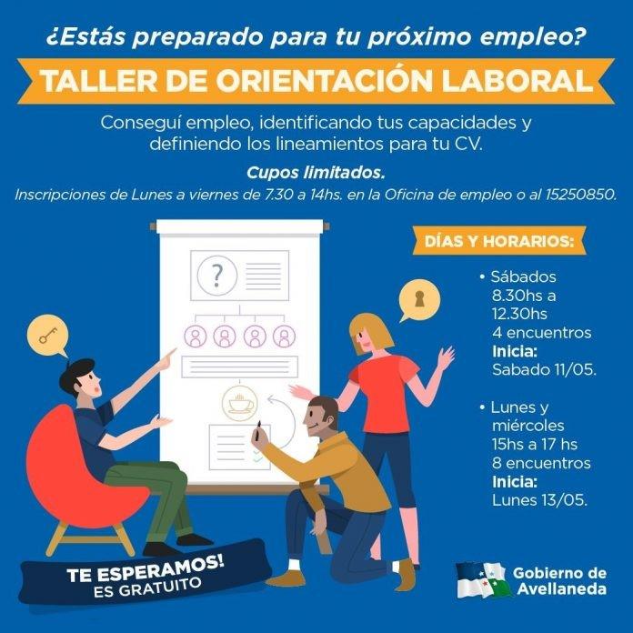 Taller de orientación laboral en Avellaneda