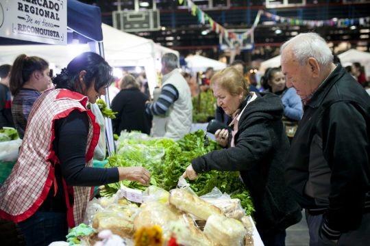 Más de  3000 personas visitaron el Mercado Regional de Mi Tierra Reconquista