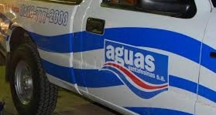 Aguas Santafesinas limpiará la red de distribución en todos los barrios