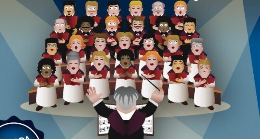 Encuentro de coros de abuelos en Avellaneda