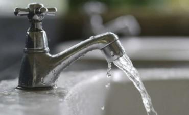 No sube agua al tanque: baja presión para mañana