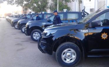 Nuevos móviles policiales para la Unidad Regional IX