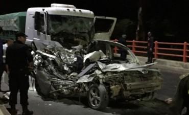 Accidente de  transito fatal sobre el Puente Chaco-Corrientes