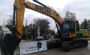 Nuevos vehículos y maquinarias para Reconquista