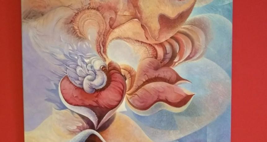 Muestra de pinturas del artista Carlos Fuentes en Reconquista