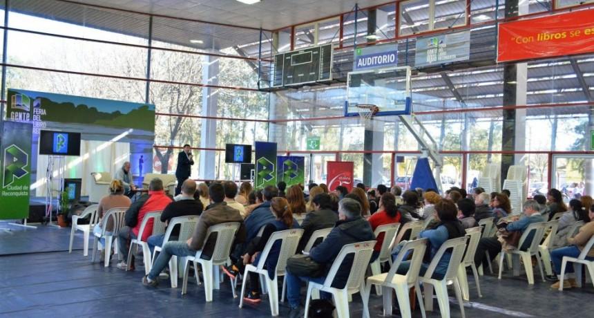 """II Feria del Libro """"Gente del Agua"""": llegan Rubinzal y Natanson"""