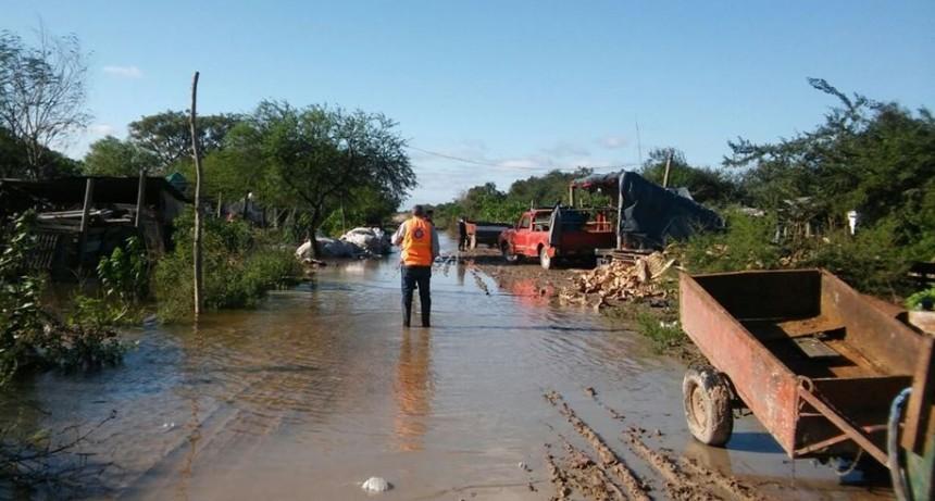 Emergencia hídrica: se transfirieron montos a localidades del norte
