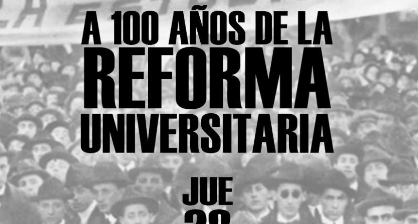 """A 100 años de la reforma, """"sobran ídolos y faltan pedestales"""""""