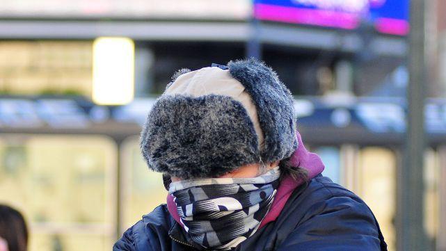 El país bajo cero: avanza un frente de aire polar