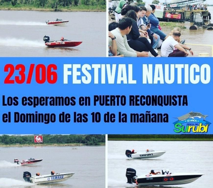 Festival Nautico en Reconquista