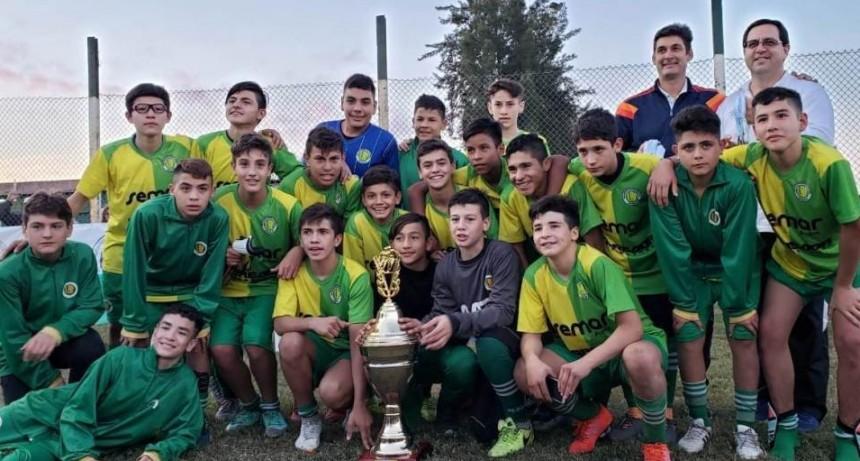 Reconquista Campeón Provincial de Fútbol Sub 13
