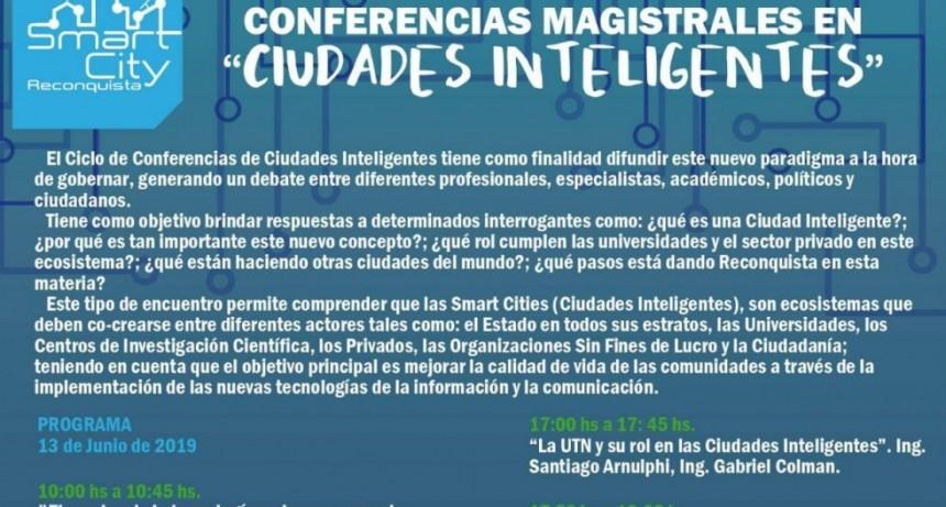 Ciclo de conferencias sobre Ciudades Inteligentes