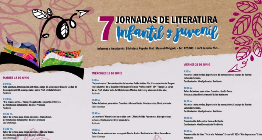 Jornadas de Literatura Infanto Juvenil