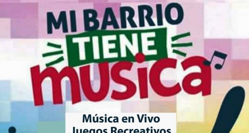 Mi barrio tiene música llega el domingo a Barrios Unidos