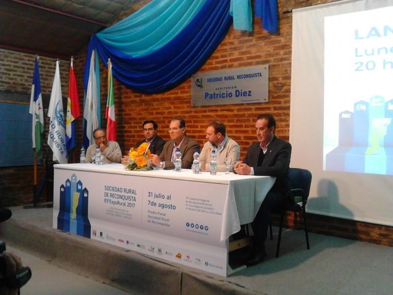 Lanzamiento de la 83º Exposición Rural de Reconquista