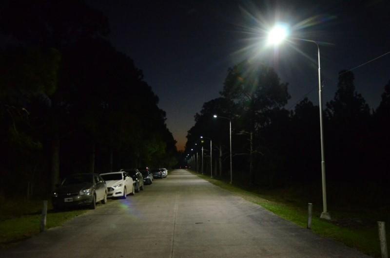 Iluminaron el acceso al aeropuerto de Reconquista