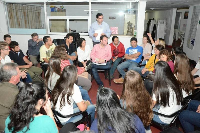 Taller de planificación participativa por el acceso al Instituto Reconquista