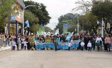 Con un emotivo desfile, Reconquista celebró el día de la Indepedencia