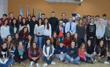 Avellaneda recibió estudiantes del programa de intercambio internacional