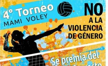 """4° Torneo Mami Voley """"No a la violencia de género"""""""