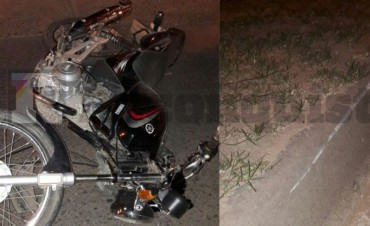 Muere un joven al caer de la moto en Reconquista