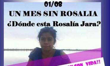A un mes de la desaparición de Rosalía Jara