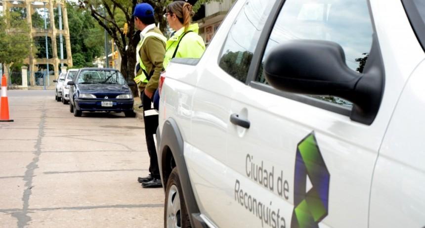 Controles de tránsito en Reconquista