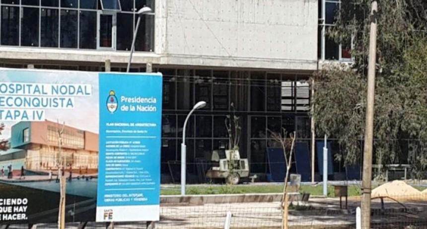 La Nación retiró el aporte para terminar el Hospital de Reconquista