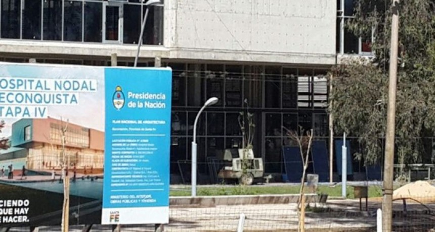Hospital:Nación retiró los fondos porque no llegaron las certificaciones de obra