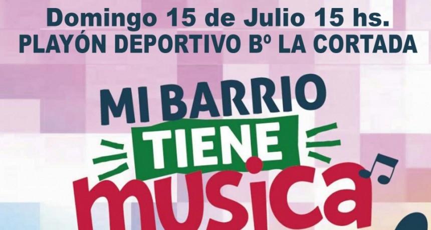 """""""Mi Barrio Tiene Música"""" llega a La Cortada, Ombusal y Las Ranas"""