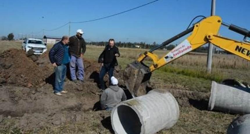 Continúan las obras en el parque Industrial de  Avellaneda