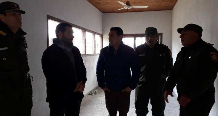 Nuevo edificio para el destacamento Los Pumas de La Gallareta