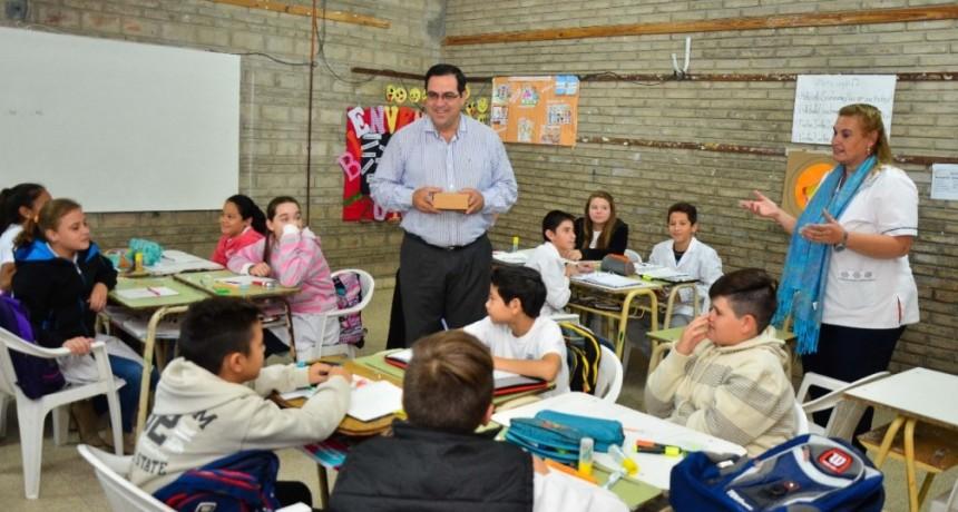 Se invertirán más de cinco millones de pesos en educación
