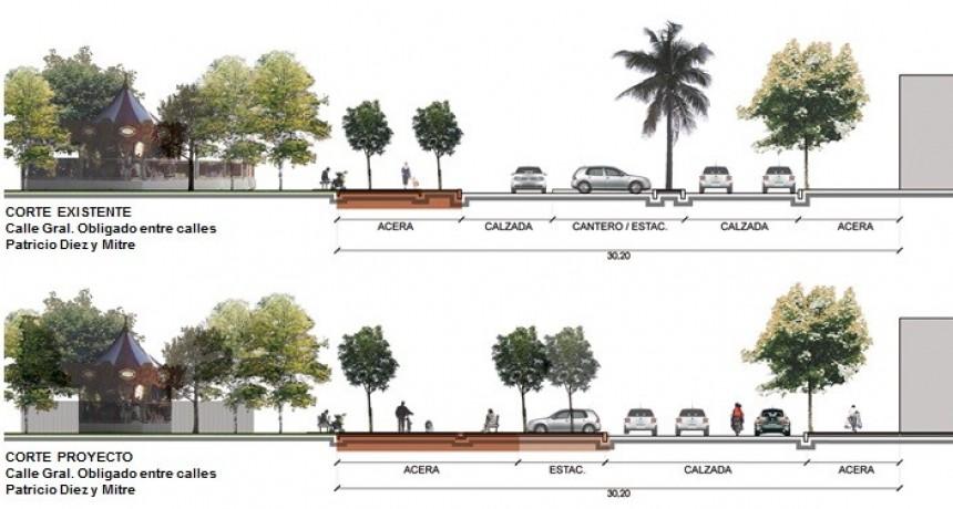 Tráfico ordenado y más estacionamientos: modificaciones en la plaza central