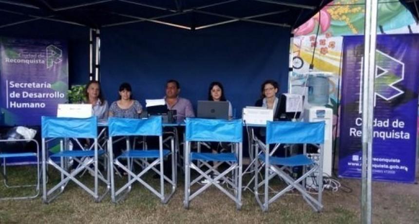 La oficina móvil Re cerca llega a los barrios Los Andes y Carmen Luisa
