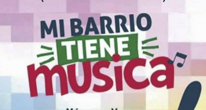 Mi barrio tiene música llega a Barrio Pucará