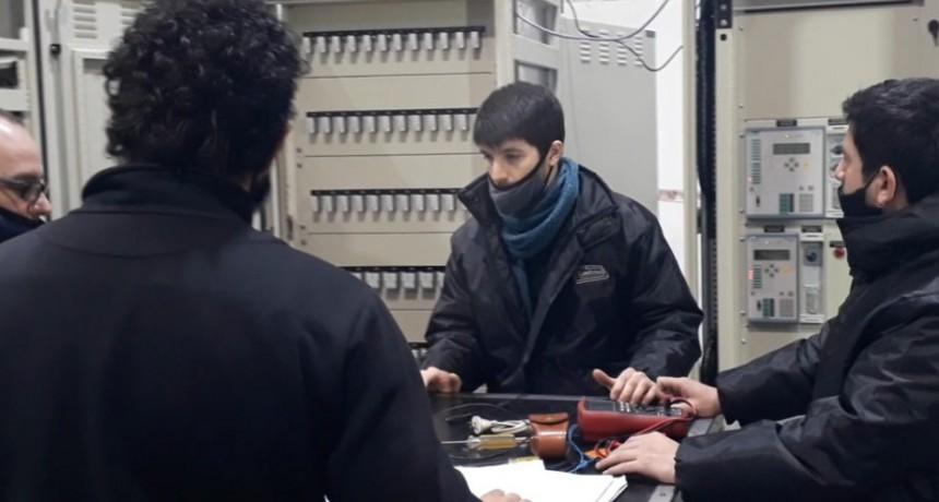 Electroluz inspeccionó sus tableros vía teleconferencia
