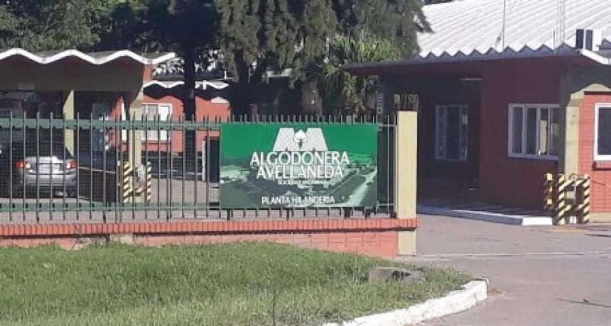 Trabajadores de Algodonera Avellaneda volvieron al paro