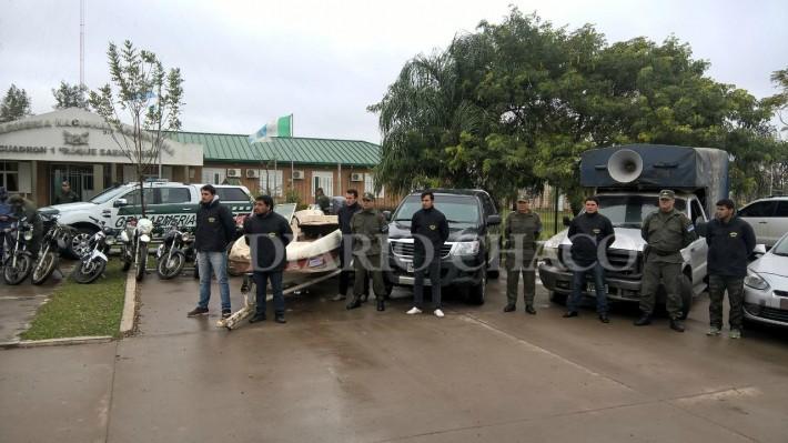 Detienen a banda narco que operaba en El Impenetrable chaqueño