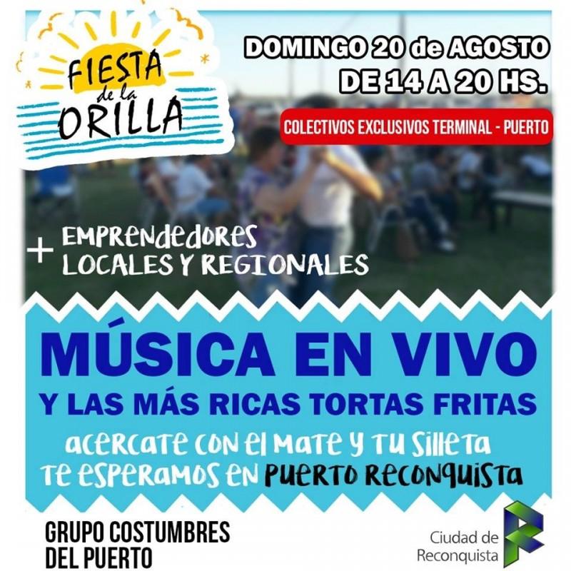 Fiesta de la orilla en Puerto Reconquista