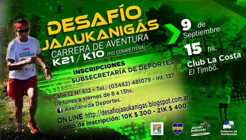 4° Desafío Jaaukanigás en Avellaneda