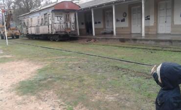 Y un día el vagón volvió a las vías del tren