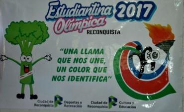 Presentaron el lema, logo y mascota de la Estudiantina Olímpica 2017