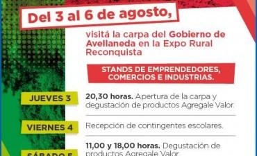 Avellaneda en la Expo Rural Reconquista