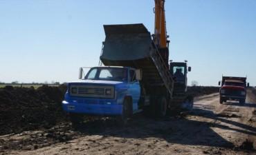 Plan del Norte: comenzó la pavimentación del acceso a La Sarita